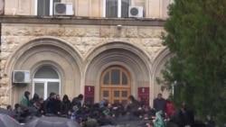 Штурм президентской администрации в Абхазии