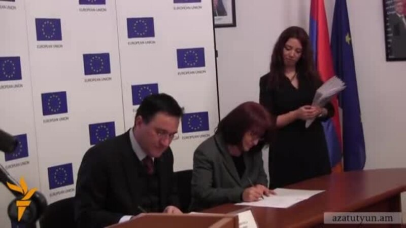 Траян Христеа: Евросоюз предоставит Армении 10 млн евро
