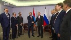 Putin Paşinyanı qəbul etdi