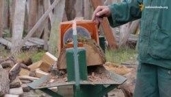 У Чернівцях винайшли дровокол, дешевший за закордонні аналоги