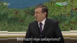 Prezidenti nazirləri hədələyir