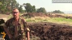 Артиллерийские обстрелы под Луганском