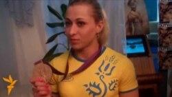 Parents Of Ukrainian Female Weightlifter Celebrate Bronze Medal