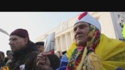 Прихильники Тимошенко пікетують Верховну Раду