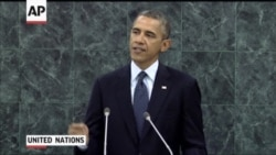 Obama Addresses Syrian Crisis, Iranian Nuclear Program At UN