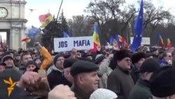 Протести во Молдавија, Стара Нова година во Белград