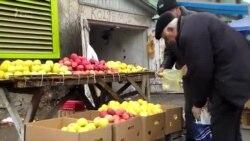 Qazax bazarında alan da dad deyir, satan da...