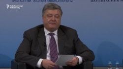 Poroshenko Warns Against 'Appeasement' Of Russia