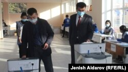 Выборы в Кыргызстане, иллюстративное фото.