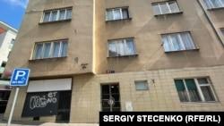 Zgrada u Pragu za koju se veruje da je u njoj živeo Frančeti.