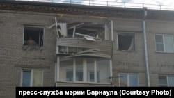 Взрыв газа в жилом доме в Барнауле, 28 июля 2021 года