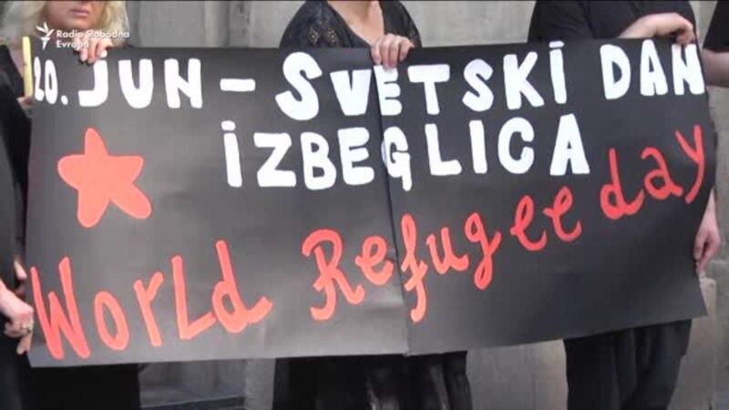 Žene u crnom obeležile Svetski dan izbeglica
