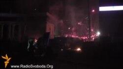 Бамбардаваньне «Беркуту» на Грушевського