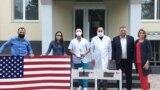 Ajutor medical american pentru spitalele din Tiraspol și Slobozia, iunie 2020