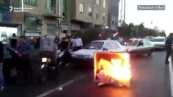 Video Appears To Show Protests In Tehran As Unrest Continues