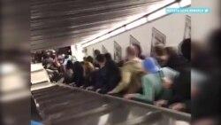 Авария на эскалаторе в римском метро – как это случилось