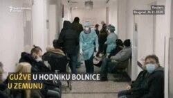 U COVID bolnici u Zemunu rekordan broj hospitalizovanih