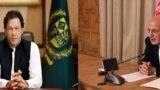 افغان ولسمشر محمد اشرف غني او د پاکستان وزیراعظم عمران خان