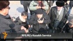 Kazakh Activists Honor Zhanaozen Victims