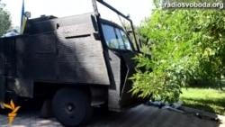 Батальйон «Азов» показав бронетехніку власного винаходу
