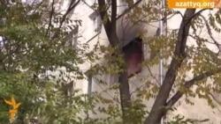 При пожаре в Астане погиб человек