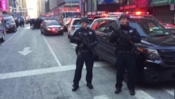 Blast Injures At Least Four In New York 'Terror-Related' Incident