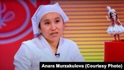 """Анара Мурзакулова """"Пятница"""" телеканалынын """"Кондитер шоусунда"""""""