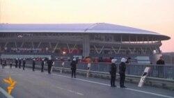 Истанбулда теракт хавфи туфайли стадиондаги ишқибозлар эвакуация қилинди