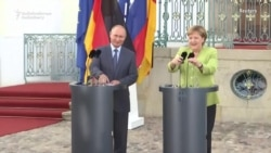 Merkel, Putin Discussing Ukraine, Energy, Iran, And Syria