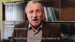 Briefly...Ukraine's Mykola Semena on Media Freedom