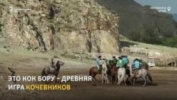 Жители Алтая сохранили этнический спорт – кок-бору