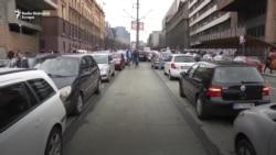 Car:Go vozači protestovali u Beogradu
