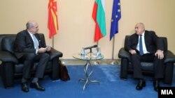 Специјалниот претставник на македонската Владаза Бугарија, Владо Бучковски, и бугарскиот премиер, Бојко Борисов, во Софија - 10 декември 2020