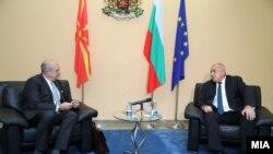 Владо Бучковски и Бојко Борисов во Софија, 10 декември 2020