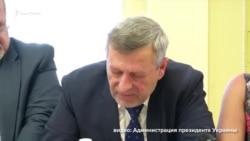 Чийгоз зачитал обращение политузника Владимира Балуха на встрече с президентом Украины (видео)