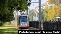 Павлодарский трамвай.