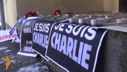 """Je suis Charlie"" la Chișinău"