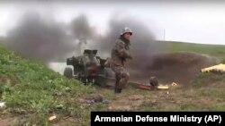 Боевые действия в Нагорном Карабахе (архив)