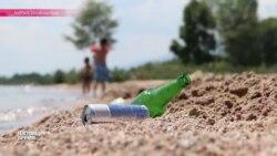 Иссык-Куль тонет в отходах и мусоре