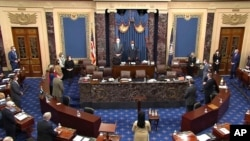 محکمه استیضاح دونالد ترمپ در مجلس سنای امریکا