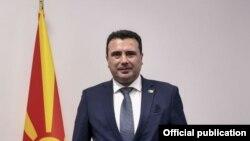 Премиерот Зоран Заев по завршувањето на Самитот на НАТО во Брисел