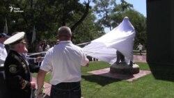 Замість монументу газеті «Іскра» – пам'ятник українським прикордонникам (відео)