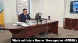 Chairman of the Council of Ministers of Bosnia and Herzegovina Zoran Tegeltija