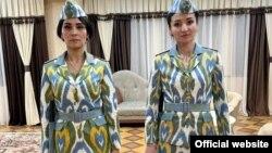 Намунаҳои либоси идонаи милитсияи тоҷик, ки дар сайти vkd.tj нашр шудааст
