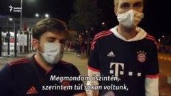 Bayern szurkolók: így kell meccset rendezni közönség előtt