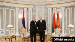 Հայաստանի և Բելառուսի նախագահները