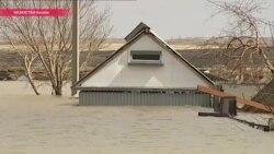 Паводок в Казахстане: затоплены уже 7 областей, погибли шесть человек