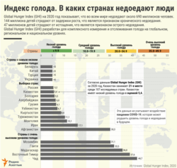 Infographics - Hunger Index - RUS