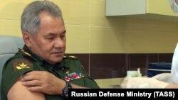 "Müdafiə naziri Sergey Şoyqu ""Sputnik V"" peyvəndini vurdurur, 4 sentyabr, 2020-ci il"