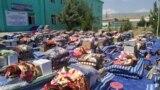 Помощь пострадавшему населению Хуросона